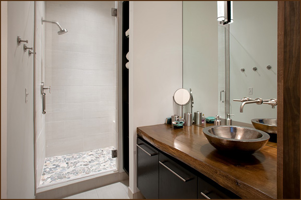 Guest bath the turchin companies en for Z gallerie bathroom guest book
